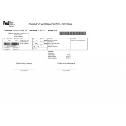 Fedex Polska moduł PrestaShop