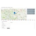 Mapka kontaktowa Google z opisem