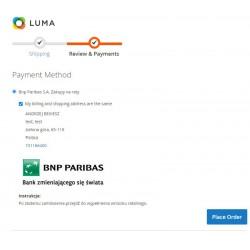 Raty Bnp Paribas S.A.  Magento 2 moduł