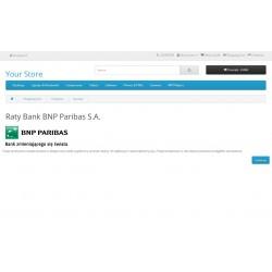 Raty Bank  BNP Paribas S.A. Open Cart